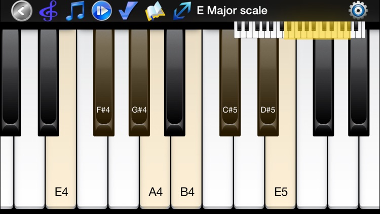 Piano Scales & Chords Pro screenshot-0