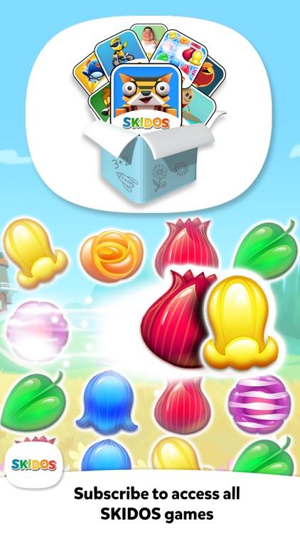 Flower Match 3 Cool Math Games screenshot-7