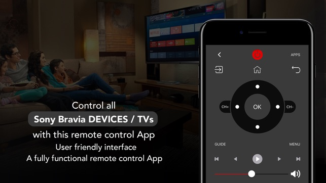 Remote For Sony TV - Bravia on the App Store