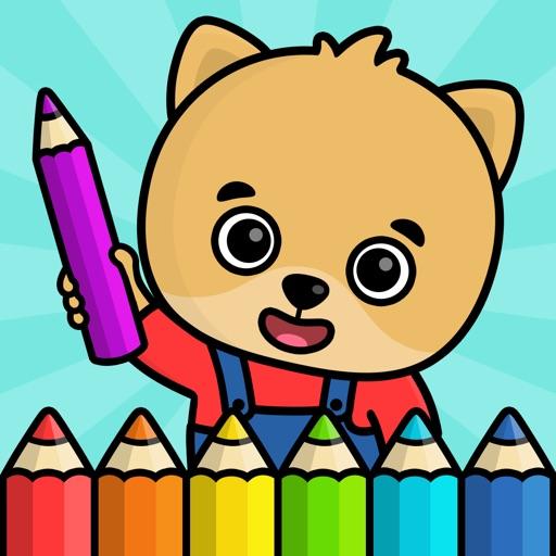 Рисование: раскраска для детей