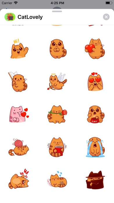 Screenshot for Cat Lovely Sticker in Kazakhstan App Store
