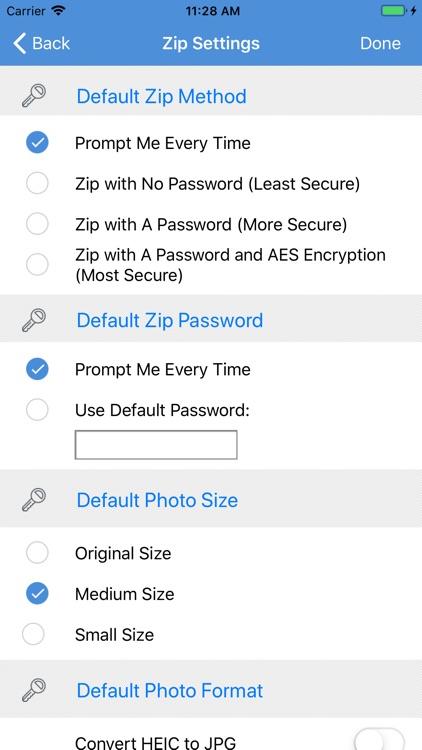 iZip Pro for iPhone screenshot-6