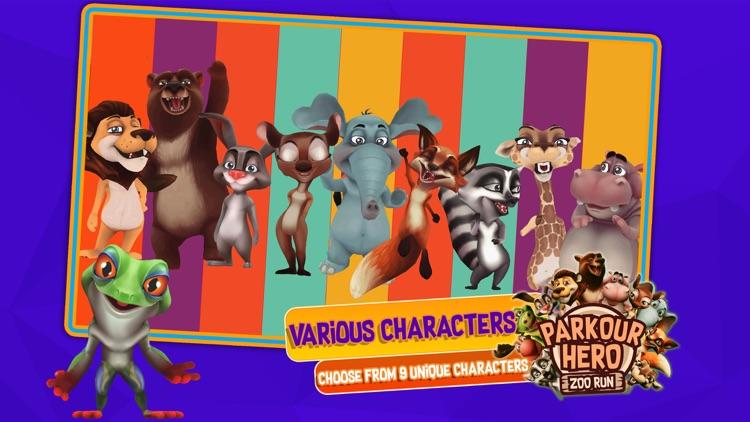 Parkour Hero: Zoo Run