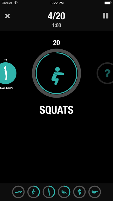 Streaks Workout Screenshots