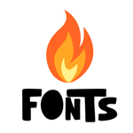 Fire Fonts | Fonts for iPhones