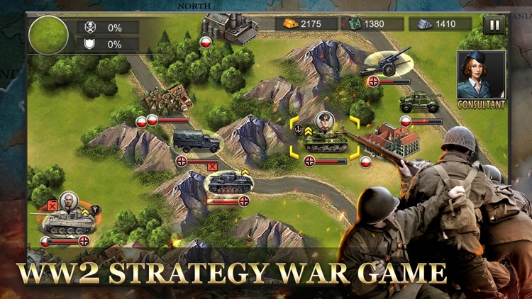 WW2: World War Strategy Games screenshot-5