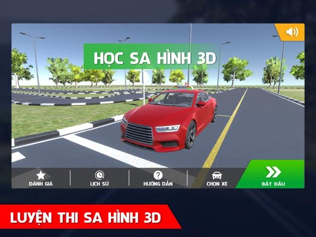 Học Sa Hình GPLX 3D