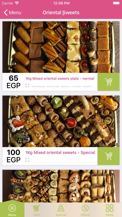 Kreaz Desserts - حلويات كريز screenshot-1