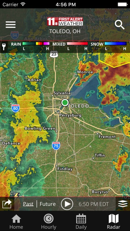 WTOL First Alert Weather screenshot-3