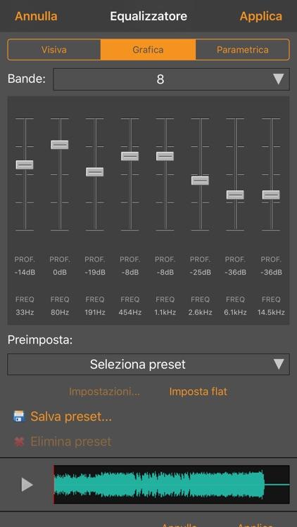 WavePad Editor- Musica e Audio screenshot-3
