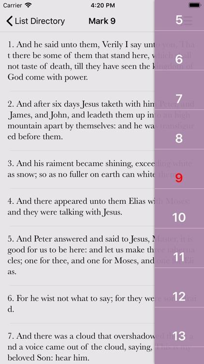 KJV Bible Books & Audio screenshot-3