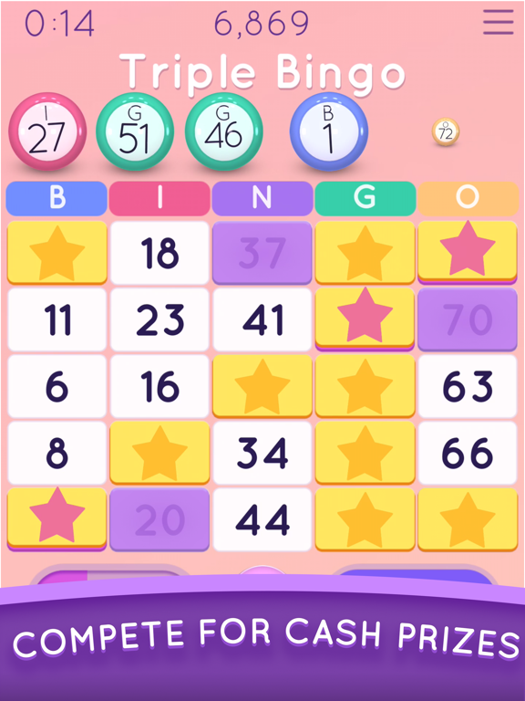 iPad Image of Blackout Bingo