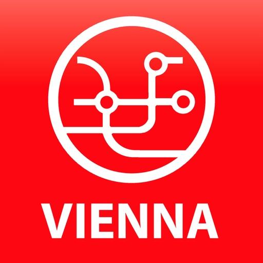 Public transport map Vienna