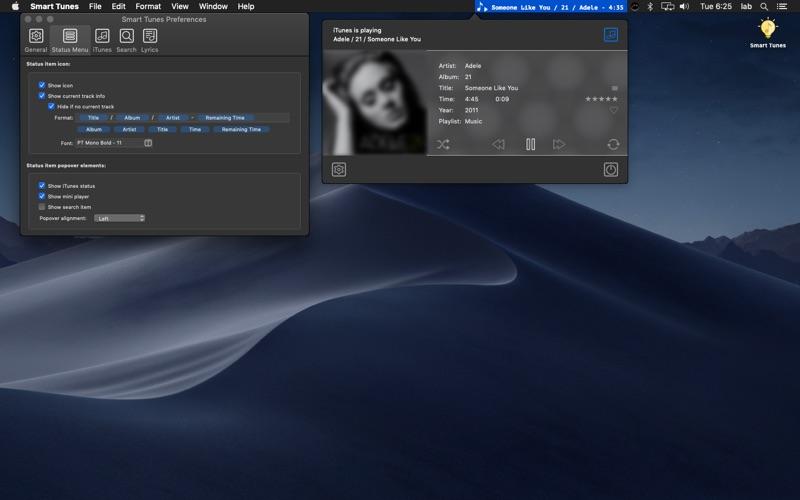 Smart Tunes for Mac