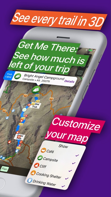 Hikepack: Clever Hiking Maps