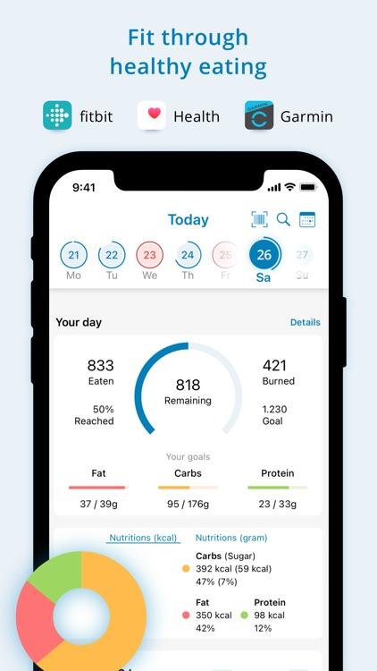 Fddb - Calorie Counter & Diet screenshot-0