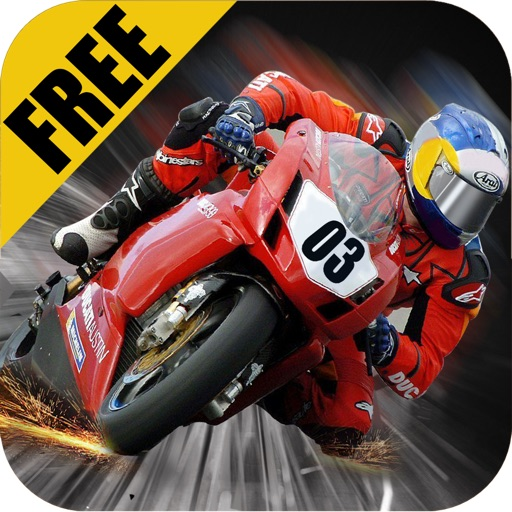 Superbike Vs Super Sonic Cars FREE : Tough Asphalt Track Moto Rally iOS App