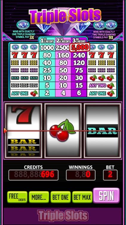 Triple Slots Classic screenshot-3