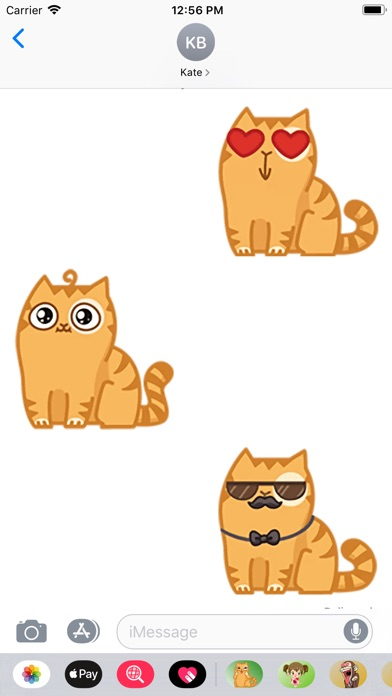 Screenshot for Cat Pesik Sticker in Netherlands App Store