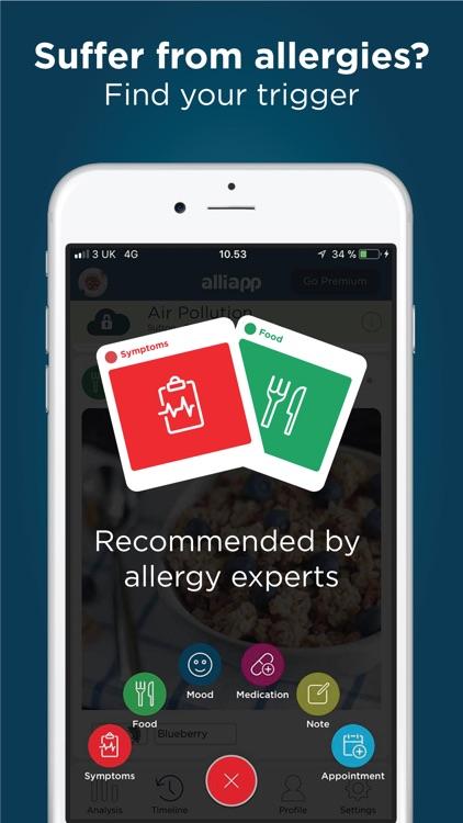 AlliApp: Allergy Food Diary