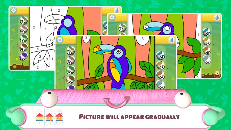 Color by Numbers - Animals screenshot-4