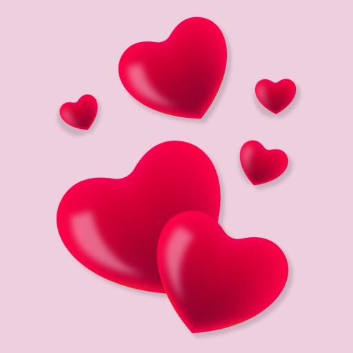 Love Sticker Frame: Background