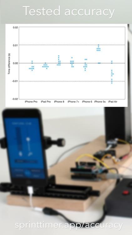 SprintTimer - Photo Finish screenshot-5