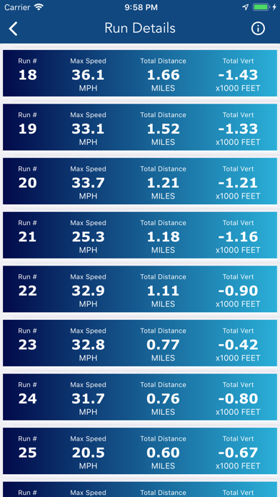 Ski Tracker & Snow Forecast Screenshots