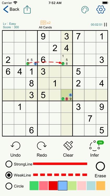 Sudoku - Logic Number Puzzles screenshot-4