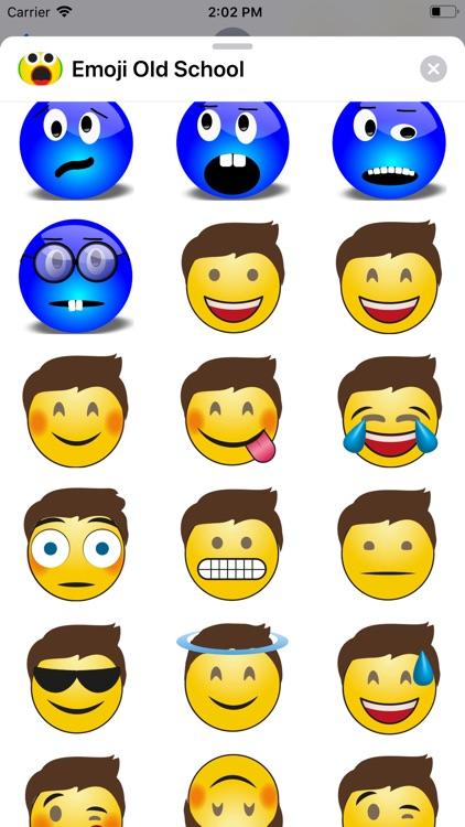 Emoji Old School screenshot-4