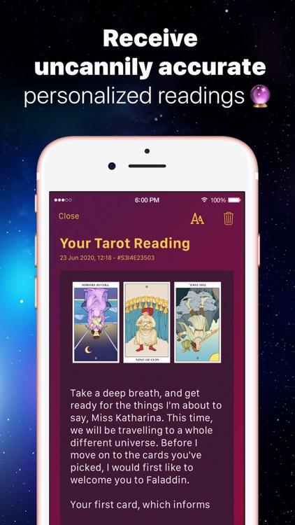 Faladdin: Horoscope & Tarot screenshot-8