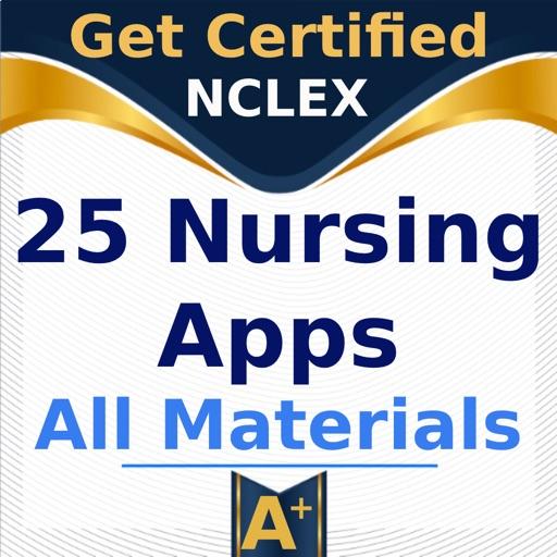 25 Nursing Apps All Materials