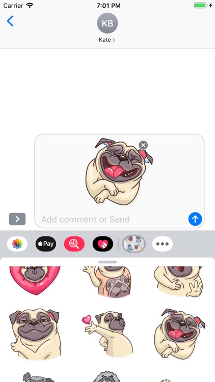 Epic Pug Emojis