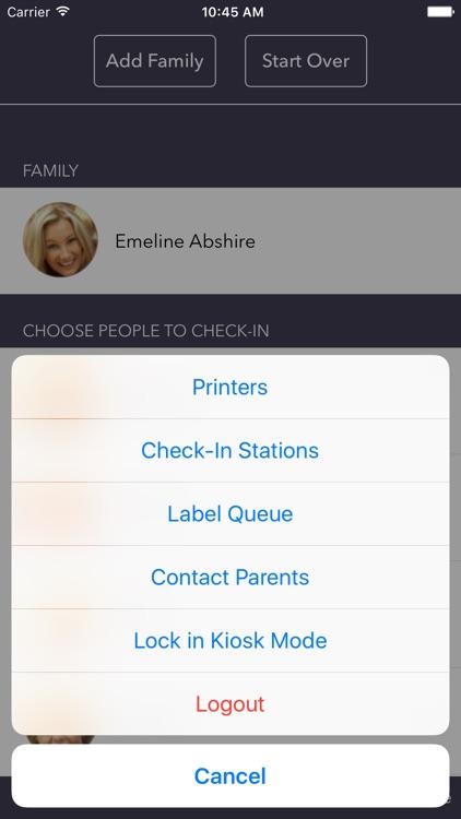 FellowshipOne Go Check-in App