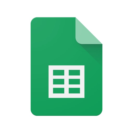 Google Sheets app for ipad