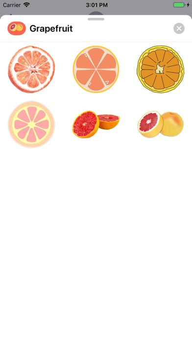 点击获取Grapefruit Stickers