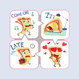 Pizza Day Stickers