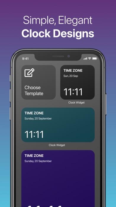Clock Widget: Custom Clock Appのおすすめ画像3