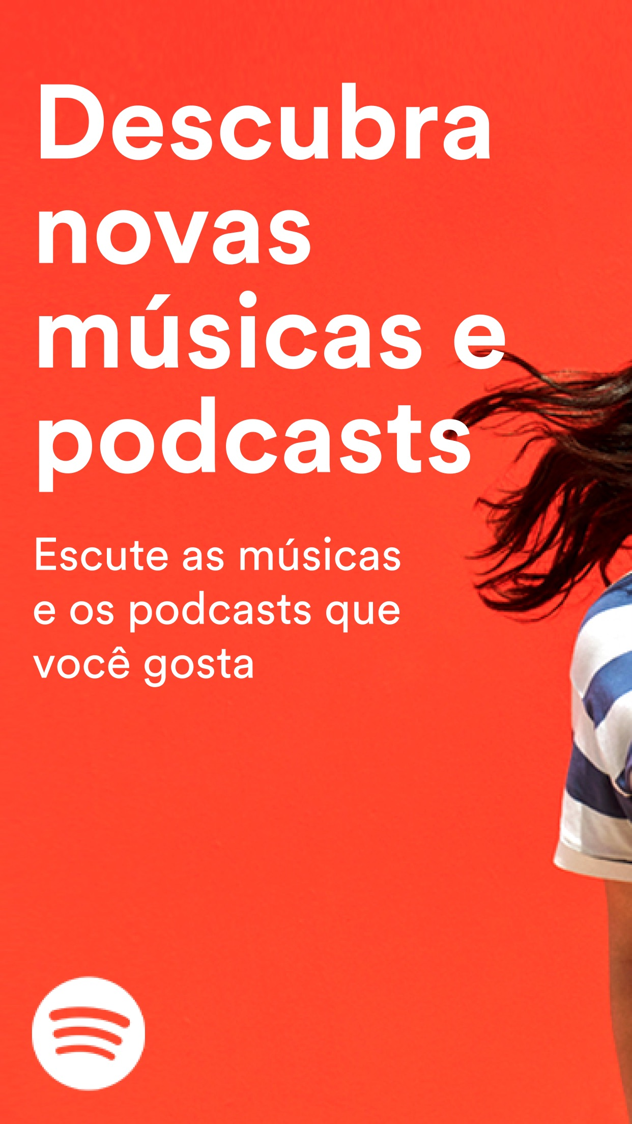 Screenshot do app Spotify - Música e Podcasts