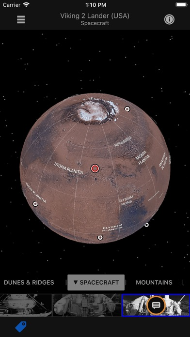 Mars Information Atlas Screenshots