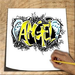 How to Draw Graffiti 3D