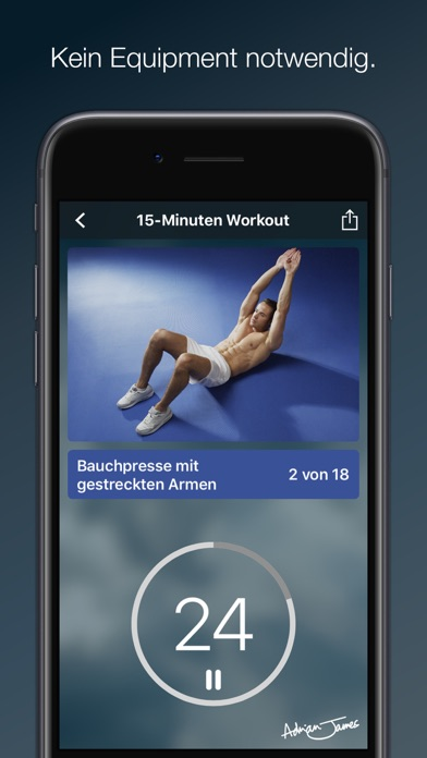 Adrian James: 6 Pack Abs (DE) Screenshots