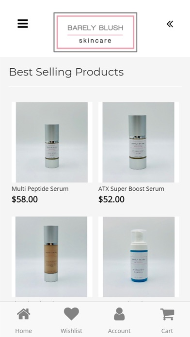 Screenshot for Barley Blush Skincare in United States App Store