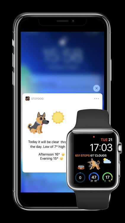 StepDog - Watch Face Dog screenshot-4
