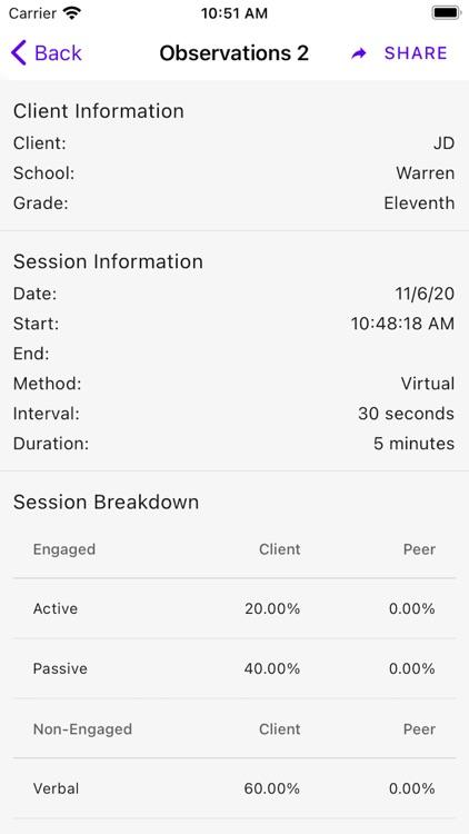 Behavior Observation: BOSS screenshot-5