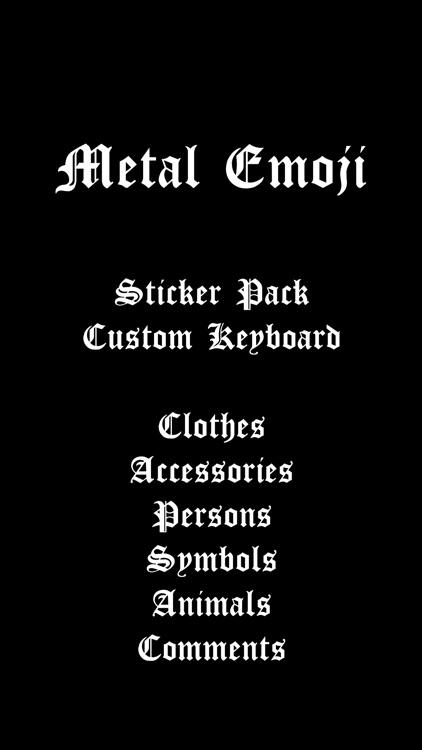 Metal Emoji screenshot-4