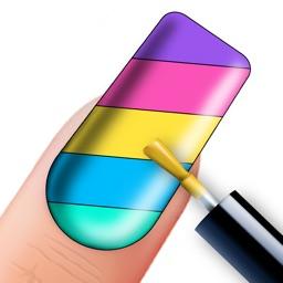 Nail Art Coloring Book