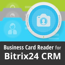 Bitrix24 CRM Biz Card Reader
