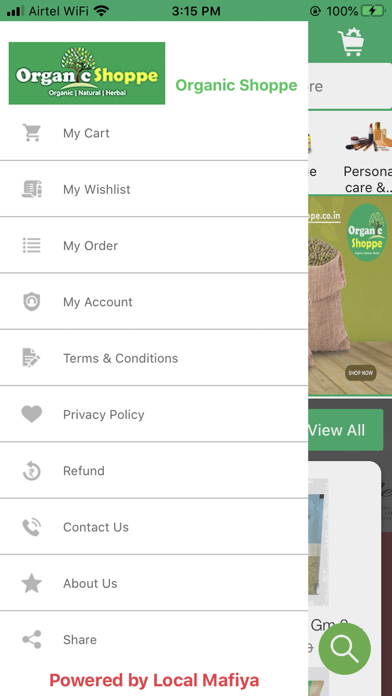 Organic Shoppe screenshot 2