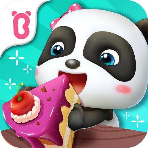 パンダのケーキ屋さんごっこ